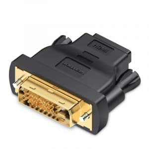 מתאם DVI MALE TO HDMI FEMALE BLACK VENTION