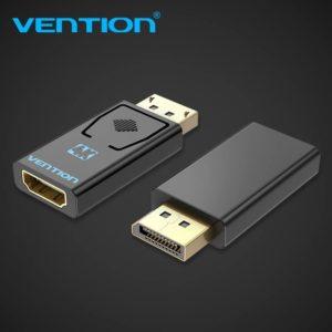 מתאם DISPLAYPORT MALE TO HDMI FEMALE BLACK VENTION
