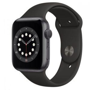 Apple Watch Series 6 44mm esim שחור