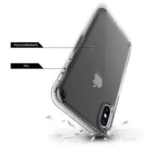 כיסוי שחור עשן IPHONE X/XS - PATCHWORKS LEVEL VISION