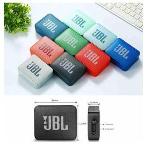 רמקול נייד JBL GO2 בצבע טורקיז 2
