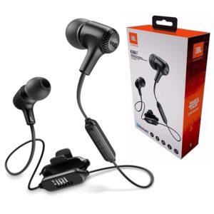 אוזניות In Ear אלחוטיות JBL E25BT בצבע שחור