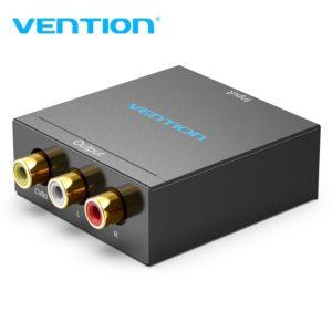 מעביר HDMI TO RCA BLACK METAL TYPE VENTION